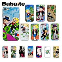 Babaite Cartoon Dollar Monopoly Luxury Unique Design PhoneCase For iPhone 8 7 6 6S Plus X XS MAX 5 5S SE XR Cover(China)