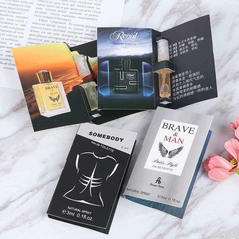 1pc 3ML Pheromone Perfume Aphrodisiac Man Orgasm Body Spray Flirt Perfume Attract Women Perfume For Men