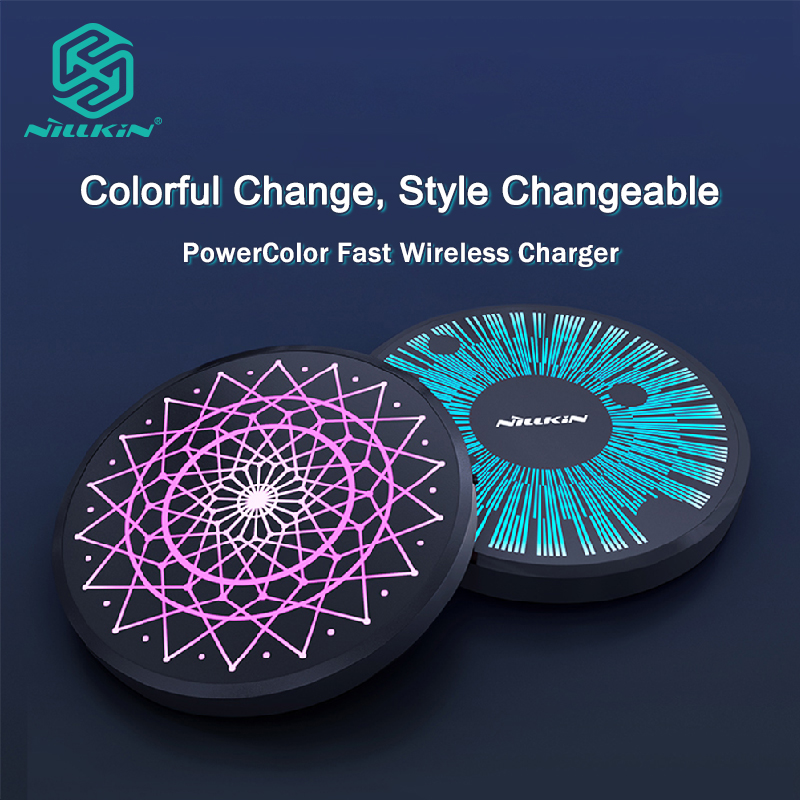 Nillkin 15W Qi Wireless Charger for iPhone X Xr XS Max Wireless Charging for Samsung Xiaomi Huawei Wireless Charging Portable|Mobile Phone Chargers| |  - title=