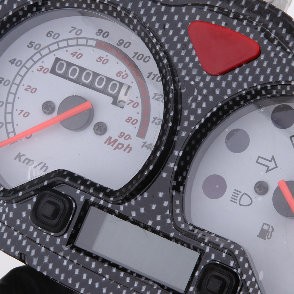 12v Motorbike 7 Pins Plug Speedometer Assembly For Yamati RX8 KEEWAY