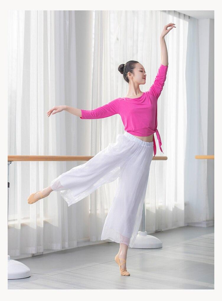 Ballet Dance Practice Clothing Set Female Classical Dance Adult Dance Wear Body Yoga Training Square Dance Costume Set For Girls