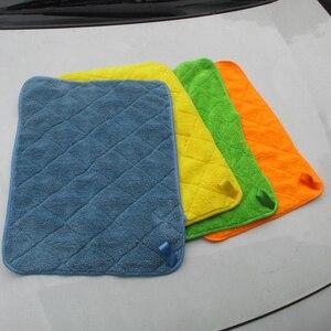 Image 3 - Auto Detaillering 40x30cm Auto Wassen Doek Microfiber Handdoek Car Cleaning Rag Voor Cars Dikke Microfiber Voor car Care Keuken