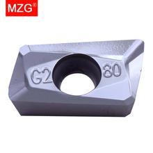 MZG rabat cena APKT1135PDER AL ZK01 średniej wykończenie miedzi i aluminium przetwarzanie CNC frezowanie frezy z węglików spiekanych wkładki