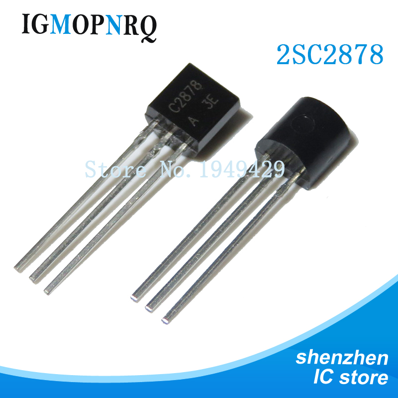 10PCS 2SC2878 TO-92 C2878 TO92 Transistor  New Original