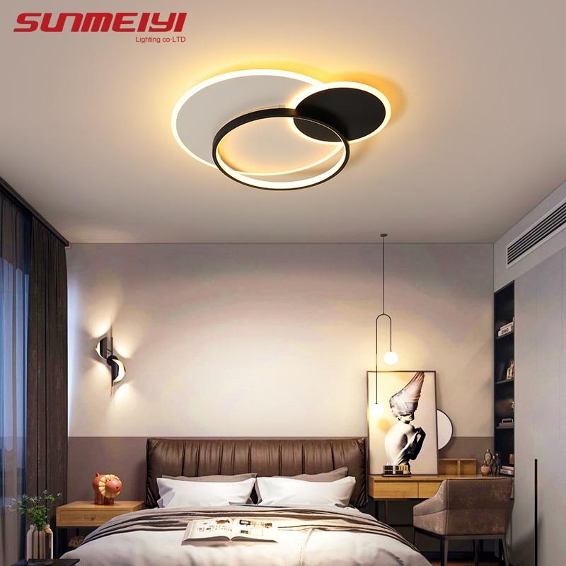 Modern Led Ceiling Lights Gold Black Bedroom Light Nordic Home Lighting For Living Room Kitchen Kids Room Buy At The Price Of 74 82 In Aliexpress Com Imall Com