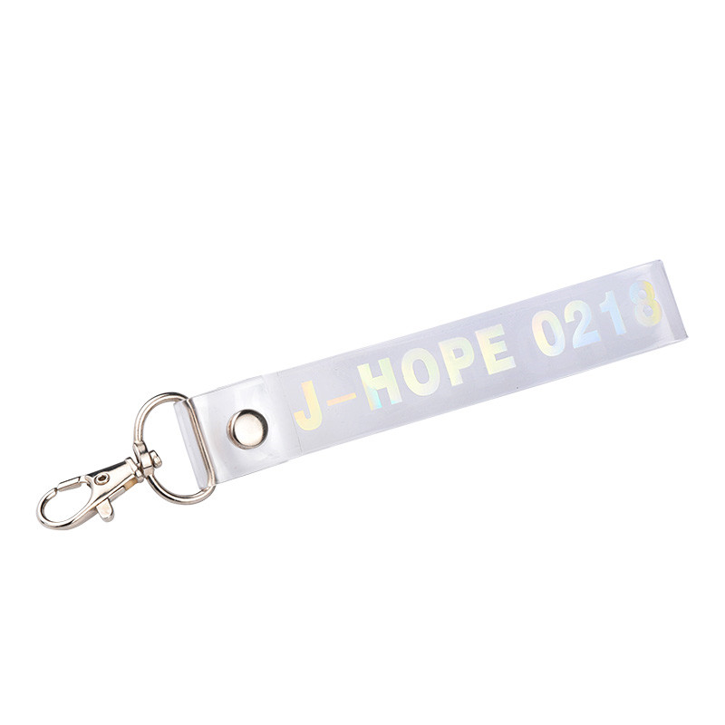 Bangtan Boys Transparent Kawaii Key Chains