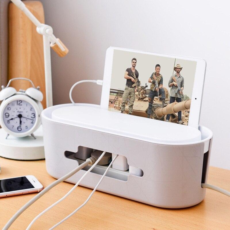 Беспроводная Wi Fi коробка маршрутизатора деревянная пластиковая настенная пластиковая коробка для хранения кабеля полоса провод управление розетка аккуратный Органайзер вилка|Ящики и баки для хранения|   | АлиЭкспресс - Товары для домашнего офиса