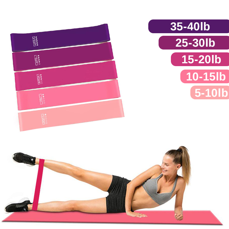 Workout Resistance Bands Latex Fitness Bands For Sports Exercise Elastic Gymnastic Band Training  Gum Fitness Equipment