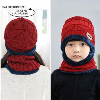 Boys Knitted Wool Hat 4