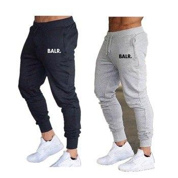Hot Sales BALR Athletic Pants Men's Trousers Sweatpants Sports Running Casual Trousers Drawstring Top Skinny Pants