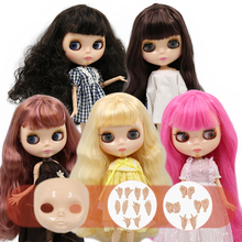 ICY DBS Blyth doll No.2 glossy face natural skin joint body 1/6 BJD special price 1/6 BJD toy gift