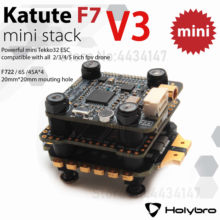 Holybro kakute f7 mini controlador de vôo v3 & tekko32 f3 4in1 45a mini atualização esc & atltal hv micro vtx combo pilha 20*20mm