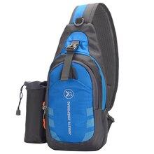Мужской женский рюкзак-слинг, нагрудная сумка через плечо, сумка на плечо, Дорожная Спортивная Сумка для спортзала, рюкзак для занятий спортом на открытом воздухе, сумка для фитнеса и бега