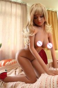 Image 5 - YANNOVA #58 150cm אהבת בובת TPE עם מתכת שלד מין בובת סקסי אישה אמיתית סיליקון סקס בובת גבר מציאות