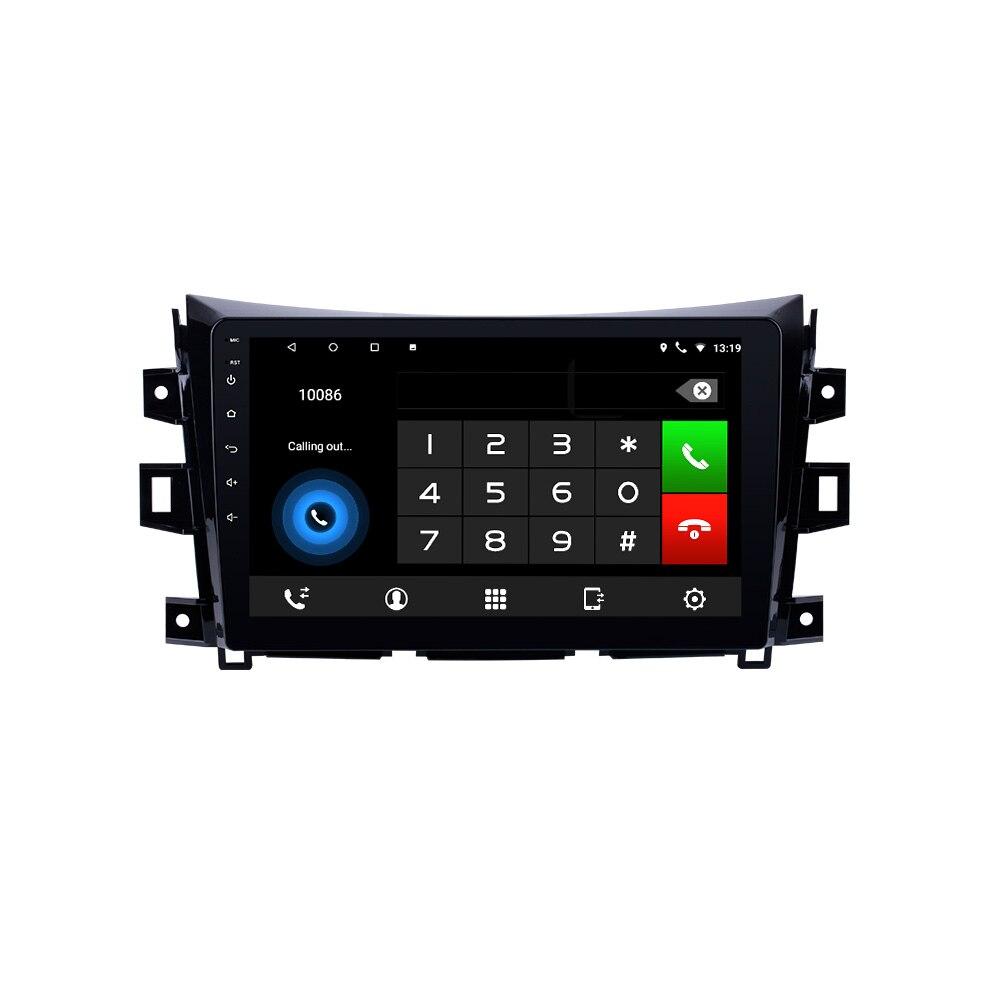 10.2 calowy Android 9.1 odtwarzacz multimedialny na lata 2011- 2016 Nissan NAVARA Frontier NP300 GPS samochód z nawigacją Radio samochodowe z WIFI