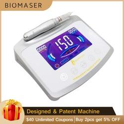 Biomaser X1 di Tocco Digitale Trucco Permanente Della Macchina Della Penna Kit Per Le Sopracciglia labbra Occhi Completo Penna Del Tatuaggio Macchina Professionale