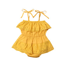 Summer Baby Girls Rompers Newborn Baby Clothes