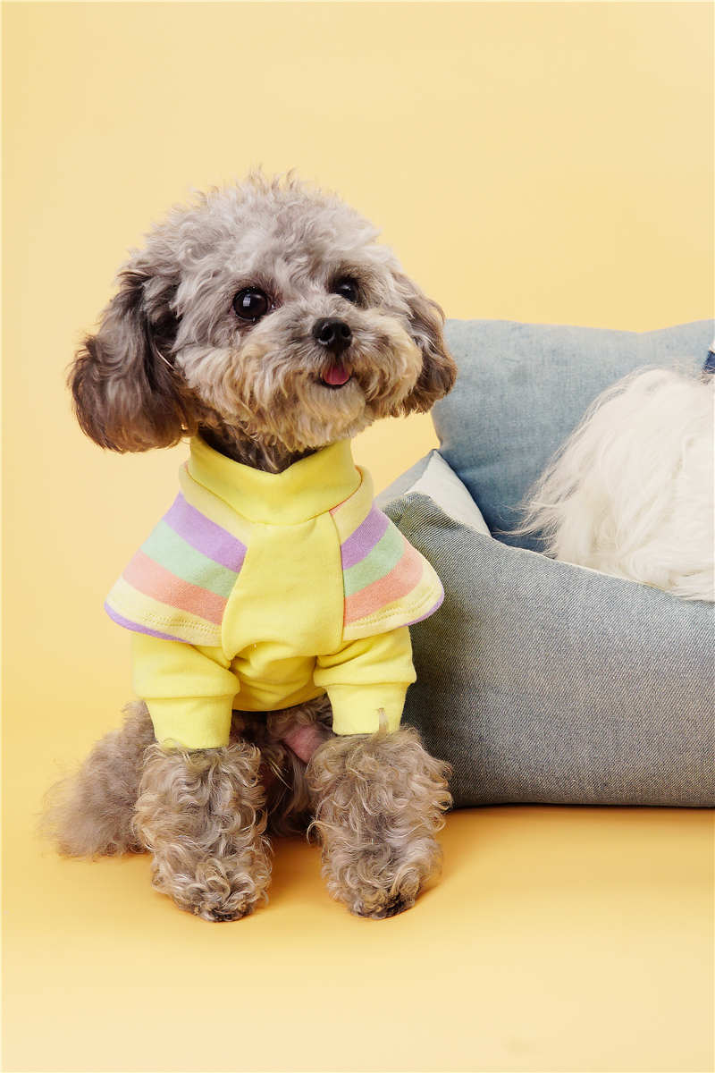 Cute small dogs clothes shirt (4)