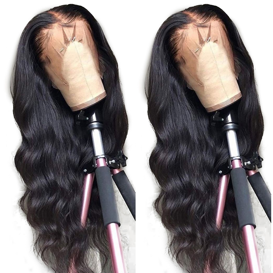 May Queen 360 Lace Frontal Wig Pre Plucked With Baby Hair Brazilian Lace Human Hair Wigs Body Wave Remy Hair Wigs 150% Density