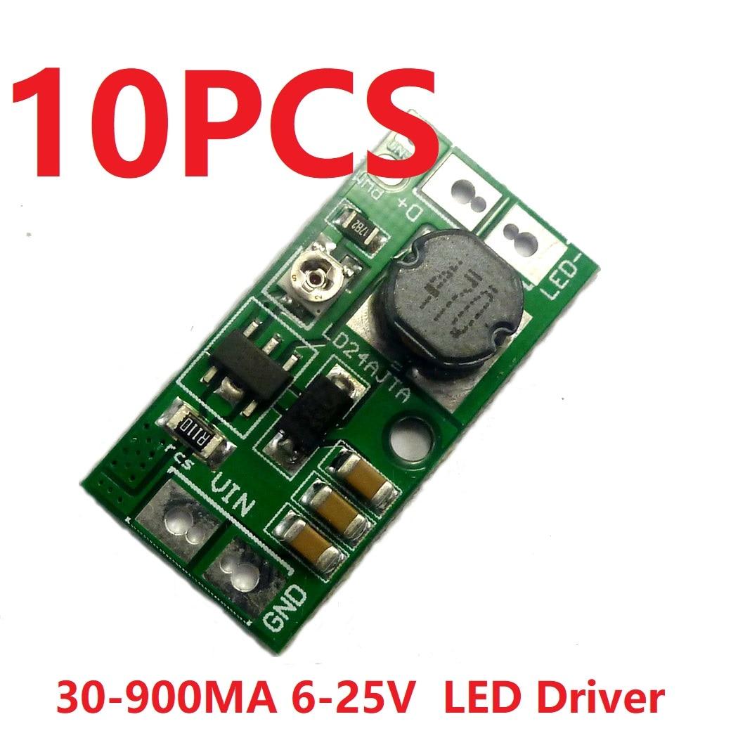 Светодиодный драйвер высокой яркости 10x LD24AJTA, постоянный ток 6 в 9 в 12 В 24 В 20 Вт, регулируемый, с затемнением 5000:1|Инверторы и конвертеры|   | АлиЭкспресс