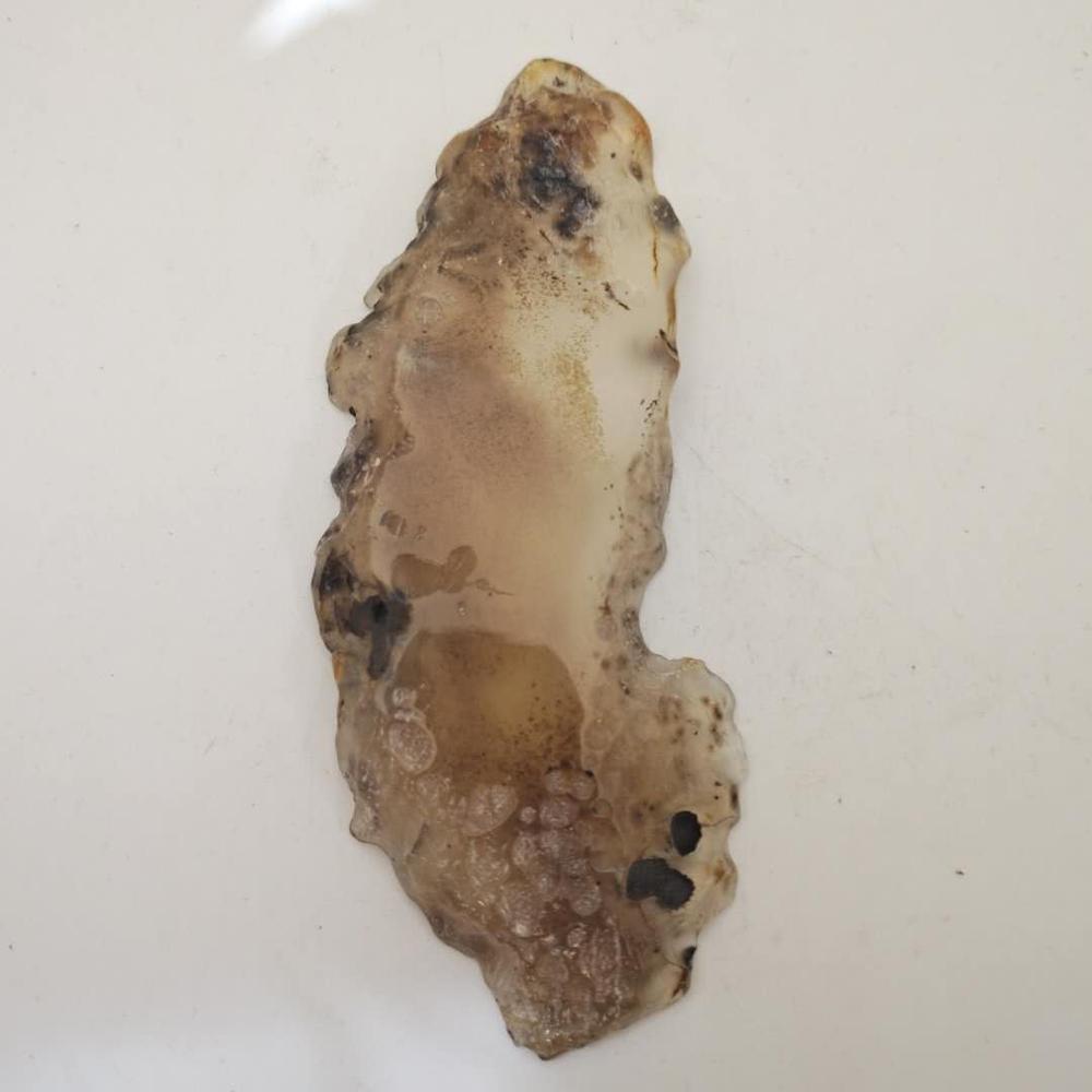 DHX SW уникальный натуральный кристалл драгоценный камень грубый Агат ломтик для горки
