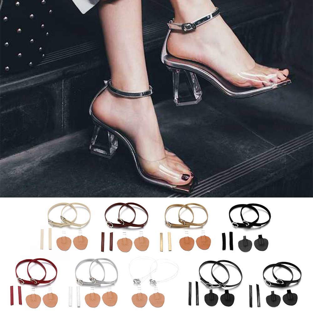 1Pair Fashion Adjustable Shoelaces For High Heels Shoe Belt Ankle Holding Loose Women Anti-skid Bundle Laces Tie Straps Band