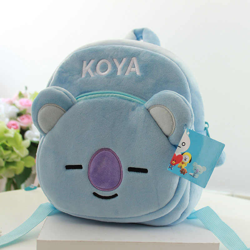 2019 New 3D Koala School Bags For Boys Girls Cartoon Cute Soft Plush Backpacks Kids Children Schoolbag Best Gift Toy Doll Bags