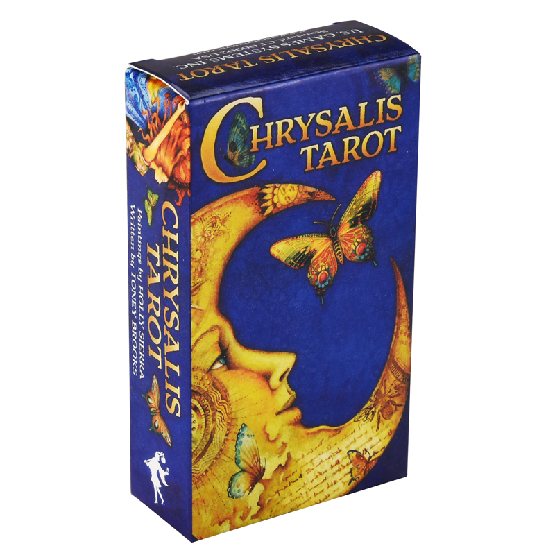 Chrysalis Tarot Cards Game English Tarot Deck Table Card Board Games Party Game Playing Tarot Cards Entertainment Family Games