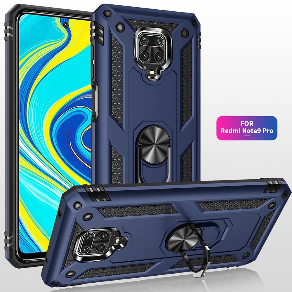 for Xiaomi Redmi Note 9S 9 Pro Max 8 8T 7 7A 9A Case Armor Shockproof Cover for Xiaomi Mi 10 9T 9 SE A3 Lite POCO X2 F2 Pro Case(China)