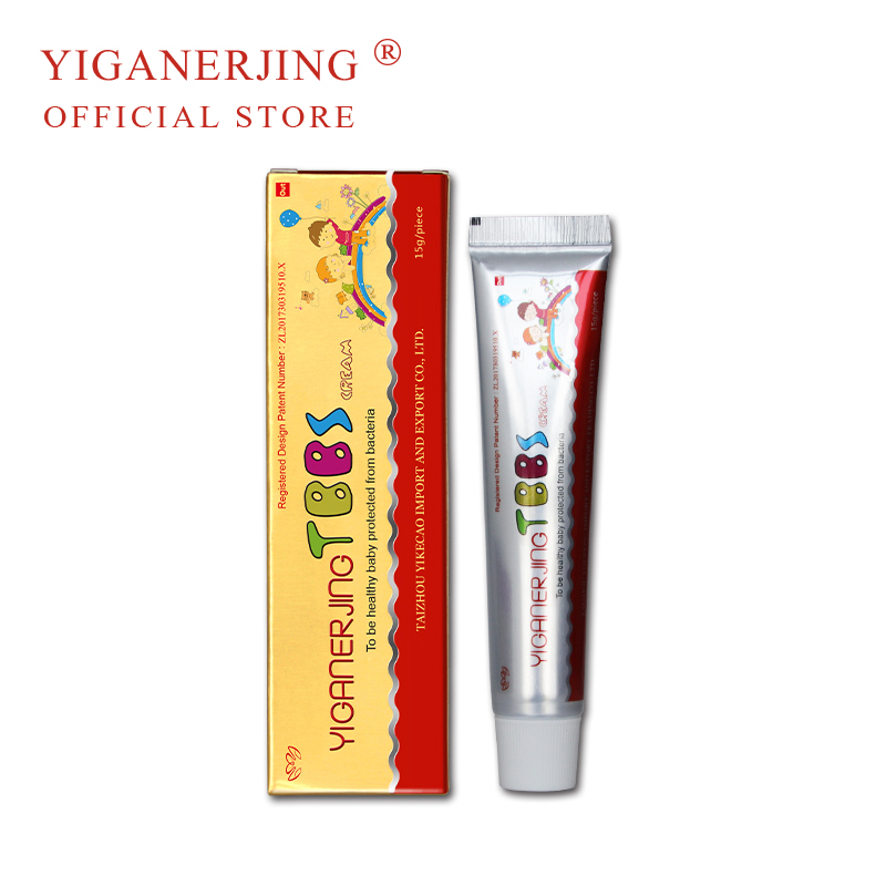 YIGANERJING Original Baby Eczema Dermatitis Cream Anti Mosquito Bites Redness Nappy Cream Baby Skin Problem Treatment