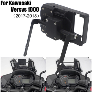 For Kawasaki Versys 1000 VERSYS1000 2017 2018 Motorcycle Accessories Motorcycle Modified Gps Navigation Bracket