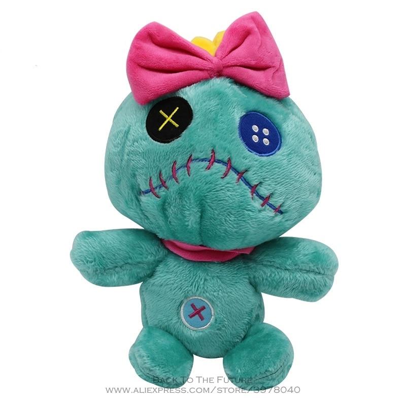 Disney Stitch 27cm Cartoon Animal Soft Stuffed Cotton Dolls Plush Peluche kids Toy Model for Children Gift