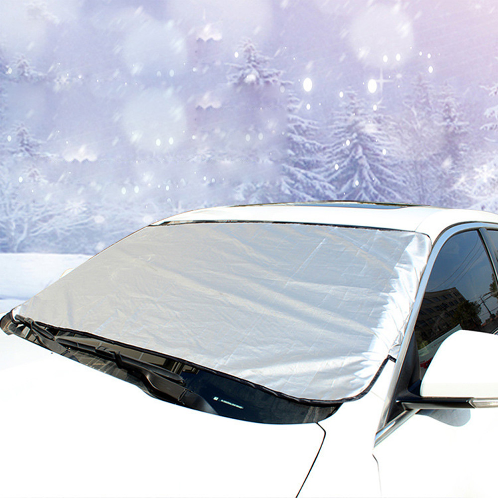 Car Snow Shield Frost Proof Front Sunscreen Windshield Cover Sun Shade Snow Shield Multipurpose Film Dustproof|Car Covers| |  - title=