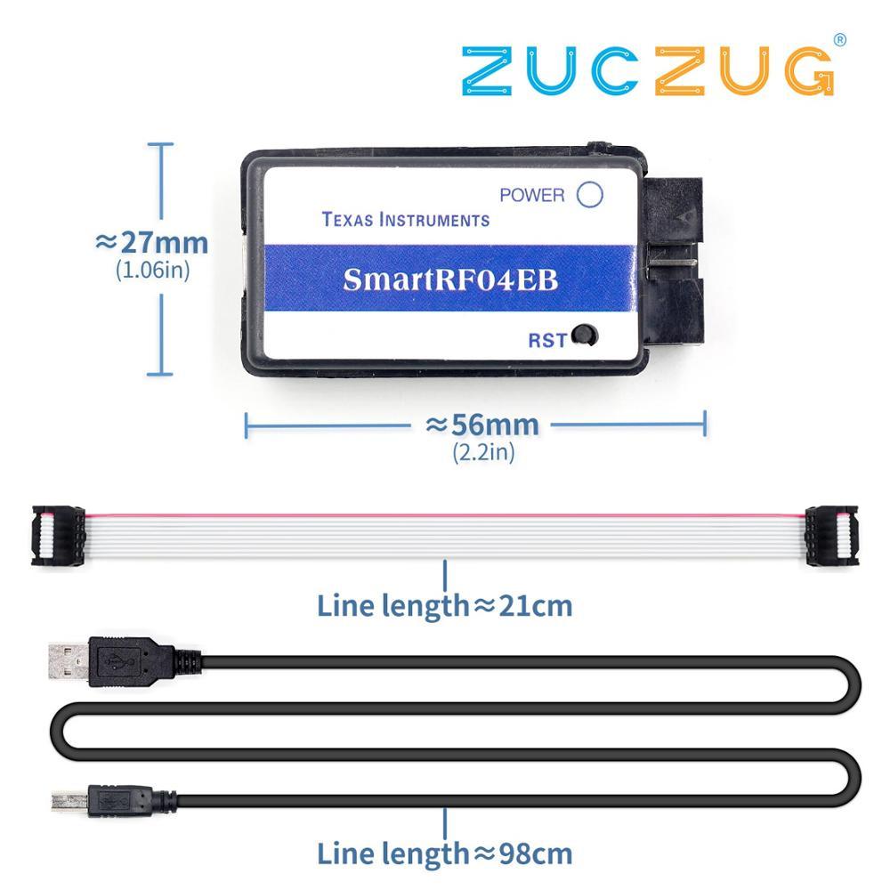 SmartRF04EB CC1110 CC2530 ZigBee Module USB Downloader Emulator MCU M100 Powered By 5v Micro USB 2.0 Interface HDMI Output
