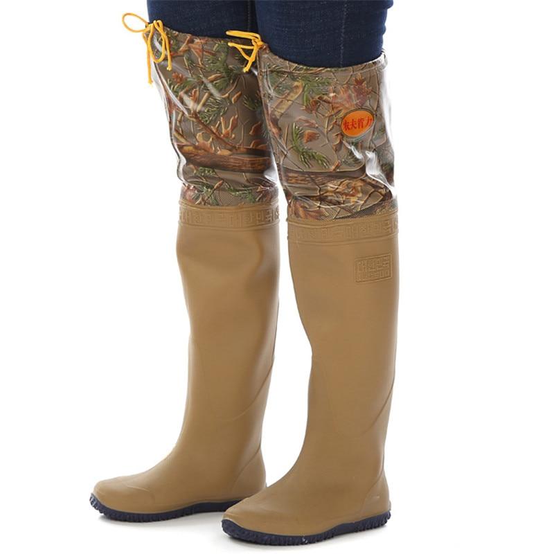 camuflagem limicolas pesca wader pvc sapatos de sola macia para unisex multi pesca limicolas botas de