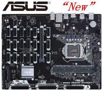 Neue ASUS B250 BERGBAU EXPERTE DDR4 LGA 1151 19 grafikkarte 32GB B250 Desktop motherboard
