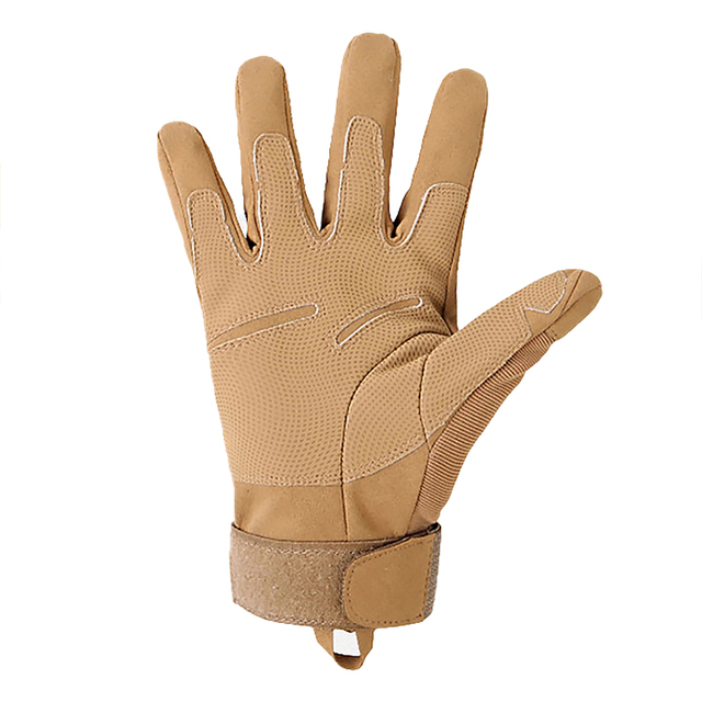 Military Outdoor Adventure Mountaineering Anti-Slip Sun Protection All-Finger Sports Riding Tactical Gloves 2
