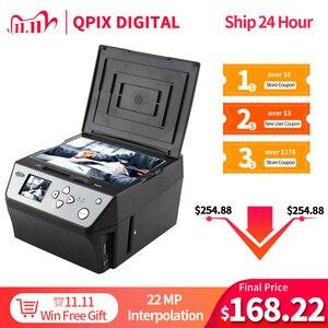Image 1 - 22 Megapixels 4 In 1 Combo Foto En Digitale Film Scanner 135 Negatieve Converter Foto 35 Mm Film Scanner business Card Scanner