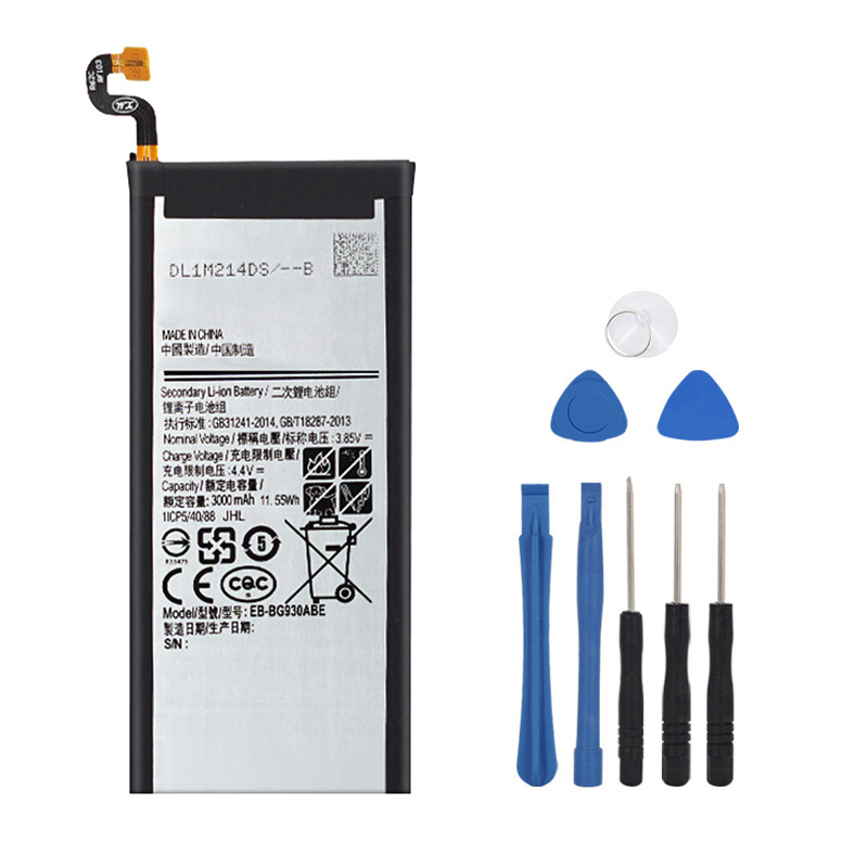 100% Original Battery EB-BG930ABE For Samsung Galaxy S7 SM-G930F G930FD G930W8 G930A G930V G930T G930FD G9300 3000mAh