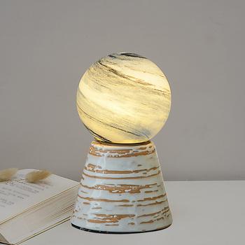 2021 lampka nocna lampka w kształcie księżyca spersonalizowana lampka Planet lampka nocna lampka nocna lampka nocna lampa księżycowa lampka nocna dla dzieci tanie i dobre opinie Joliemaison Atmosfera Piłka CN (pochodzenie) moon night light ceramic Other Przełącznik 36 v 0-5 w