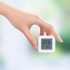 Image 4 - HOT Auf Lager Original Xiaomi Mijia MiaoMiaoCe BT 4,0 Wireless Smart Elektrische Digitale Indoor & Outdoor Hygrometer Therometer Uhr