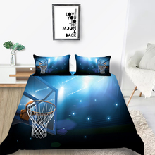 Sport Bedding Set Basketball Hoop Cool 3D Fashiona