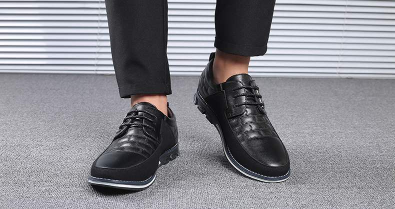 H9e0bfec70d6f4d98a585e6afab7d0428t Design New Genuine Leather Loafers Men Moccasin Fashion Sneakers Flat Causal Men Shoes Adult Male Footwear Boat Shoes