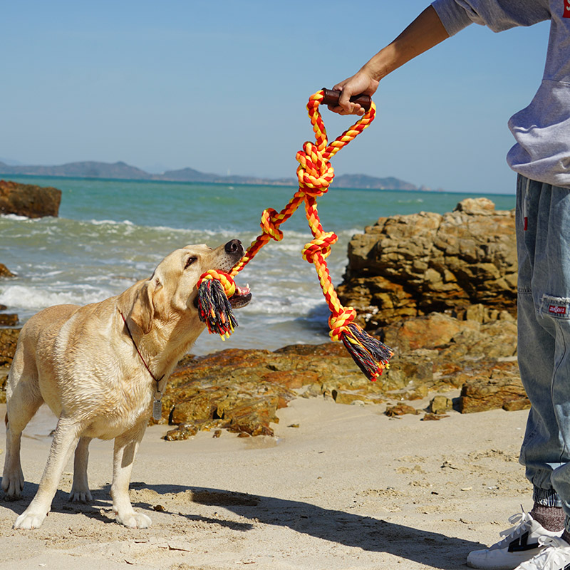 Large Dogs Tug of War Interactive Pet Rope Toys