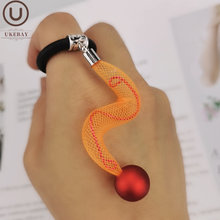 Новинка ukebay кольцо из резины странного дизайна очаровательные
