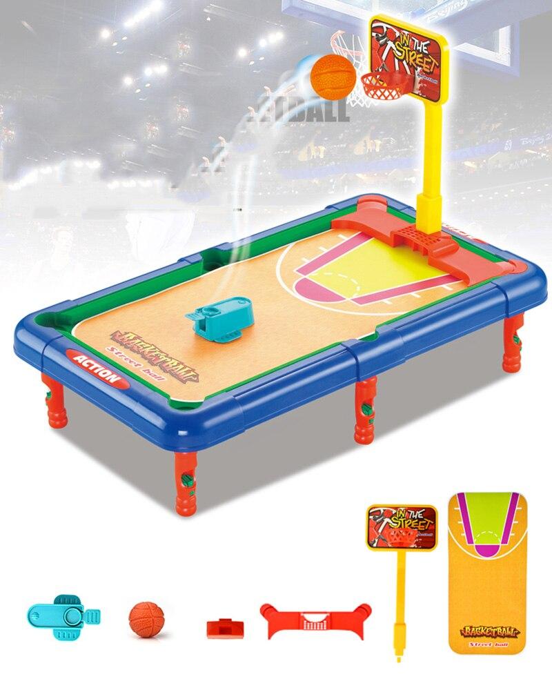 6 в 1 Набор Стол Родитель Ребенок игрушка вечерние играть в Семья крытый игры в мяч Бильярд гольф, Баскетбол Футбол Хоккей Боулинг 6 5
