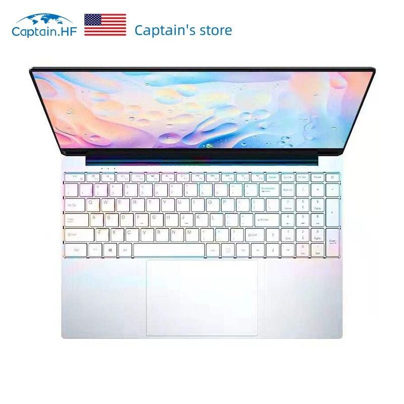 US Captain Ultrathin Laptop 15.6 Inch Intel Core I7 4500U DDR3 Laptop 8GB RAM 512GB 1TB Ultrathin 1080P Windows10 Dual Band WiFi
