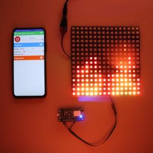 DIY GyverLamp kit 5V ws2812b 16x16 matrix address Flexible screen, alexgyver led Panel Display;arduino(China)