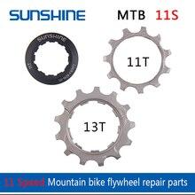SUNSHINE parts 11 speed bike cassette 11T 12T 13T Bicycle flywheel locking cover -SZ Bicycle flywheel pinion repair