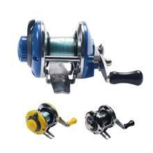 Mini mulinello da pesca all'aperto in metallo con mulinello da pesca con mulinello da Spinning per pesci